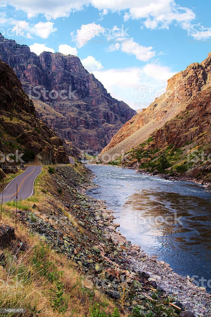 Winding Parallel Paths royalty-free stock photo