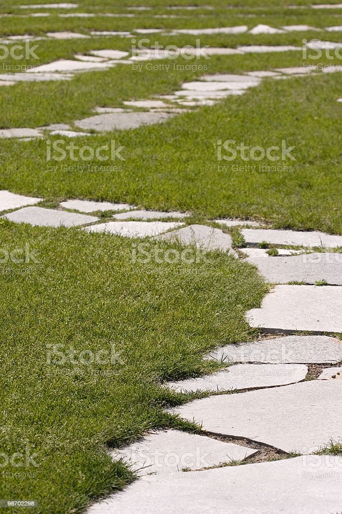 Winding Path royalty-free stock photo