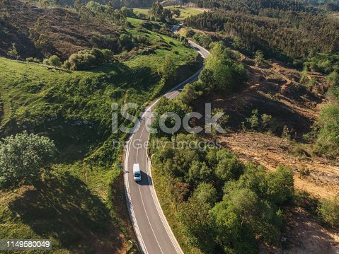 istock Winding road from above 1149580049