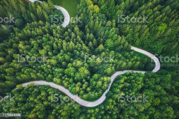 Winding Road - Fotografias de stock e mais imagens de Abstrato