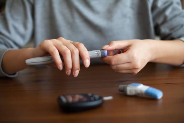 Diabetes stock photos