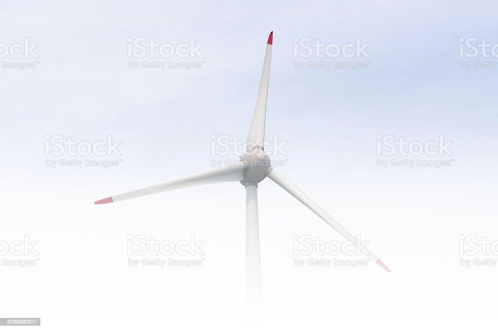Windkraftanlage stock photo