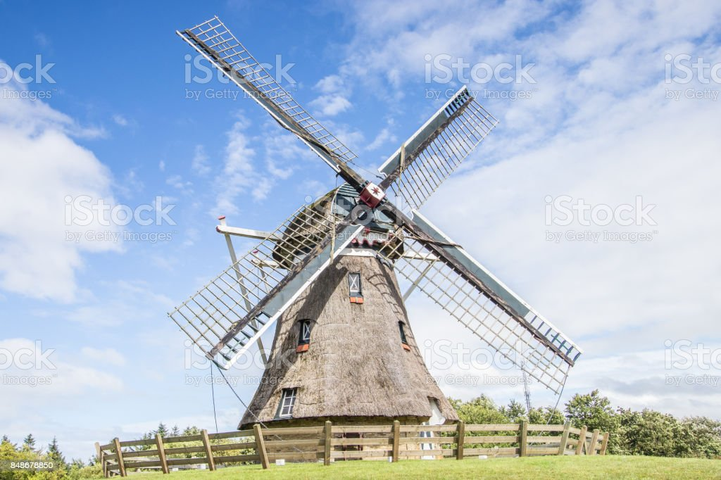 Windmühle, Ameland, Niederlande – Foto