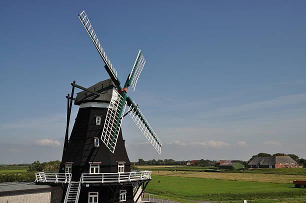 Windmühle bei Pellworm – Foto