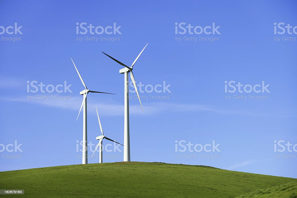 Windmill Cluster royalty-free stock photo
