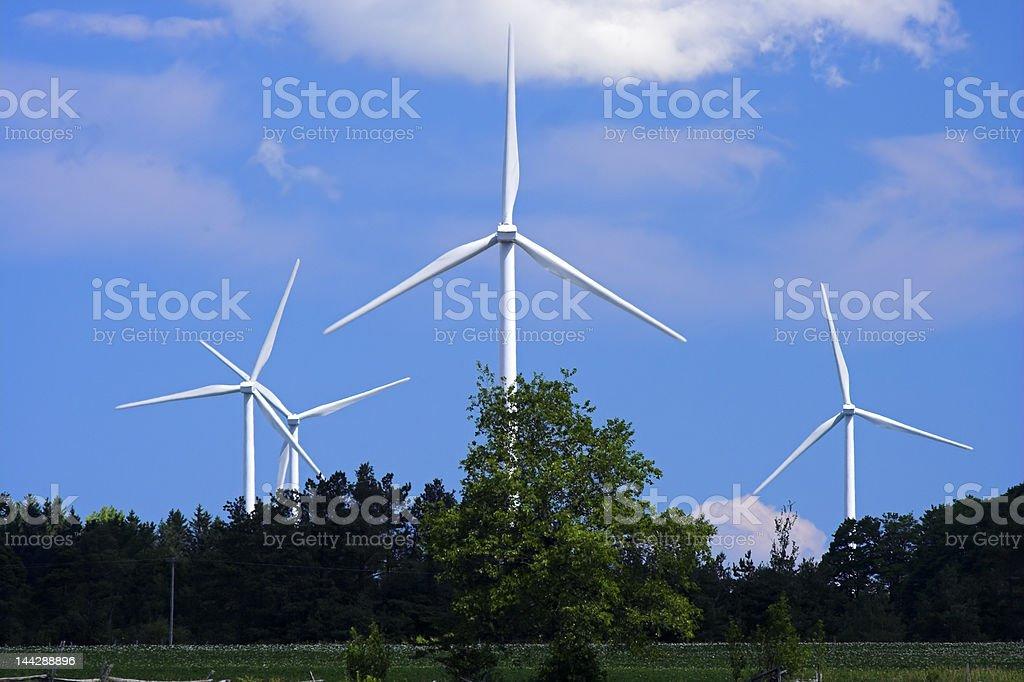 Windmill Farm royalty-free stock photo