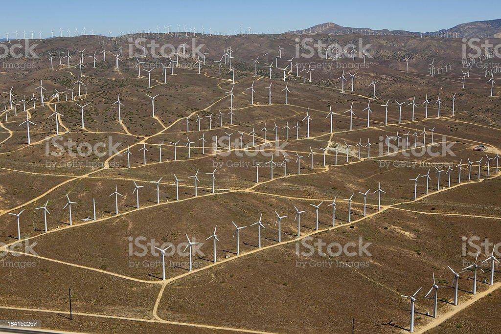 Windmill Farm stock photo