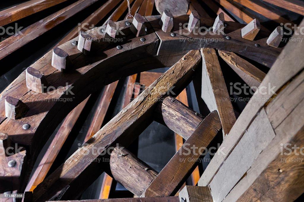 Windmill in Consuegra stock photo