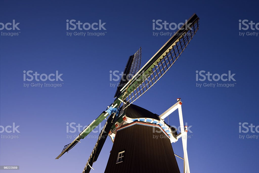 Windmill in Fulton royalty-free stock photo