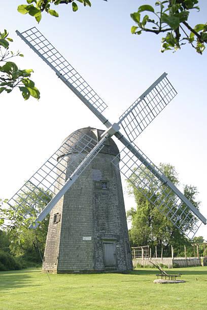 Windmill in Rhode Island. stock photo