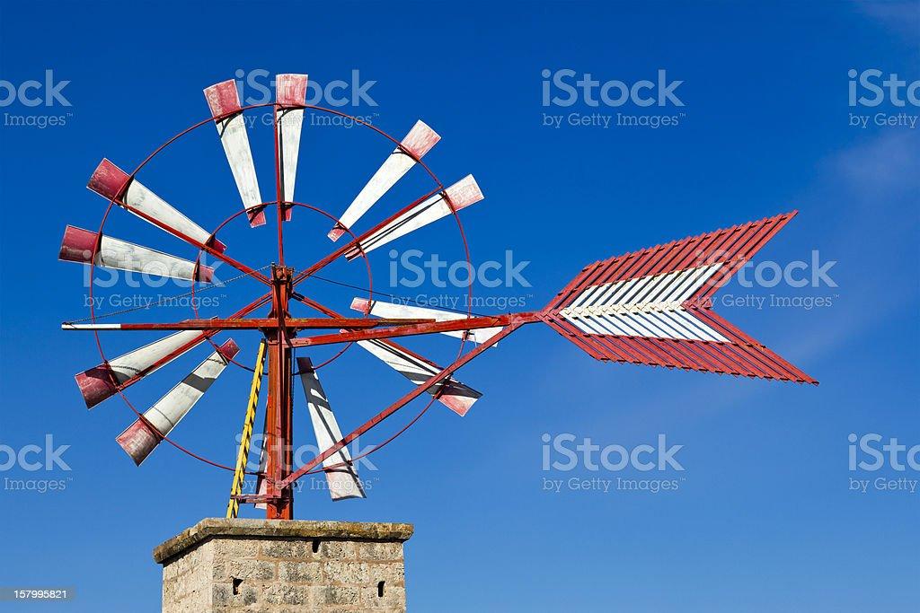 Windmill - Landmark of Majorca stock photo