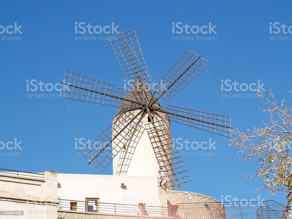 Windmill, Majorca royalty-free stock photo