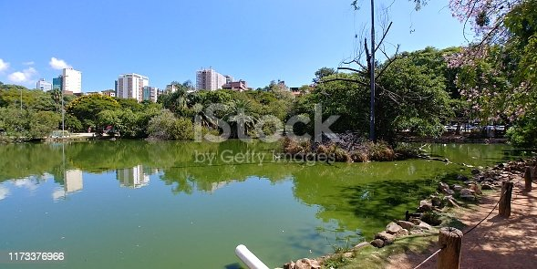 The Moinhos de Vento park is popularly known in Porto Alegre as Parcão, a large green area that has a lake with animals and a lot of natural beauty.