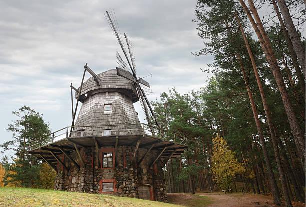 Windmühle. – Foto