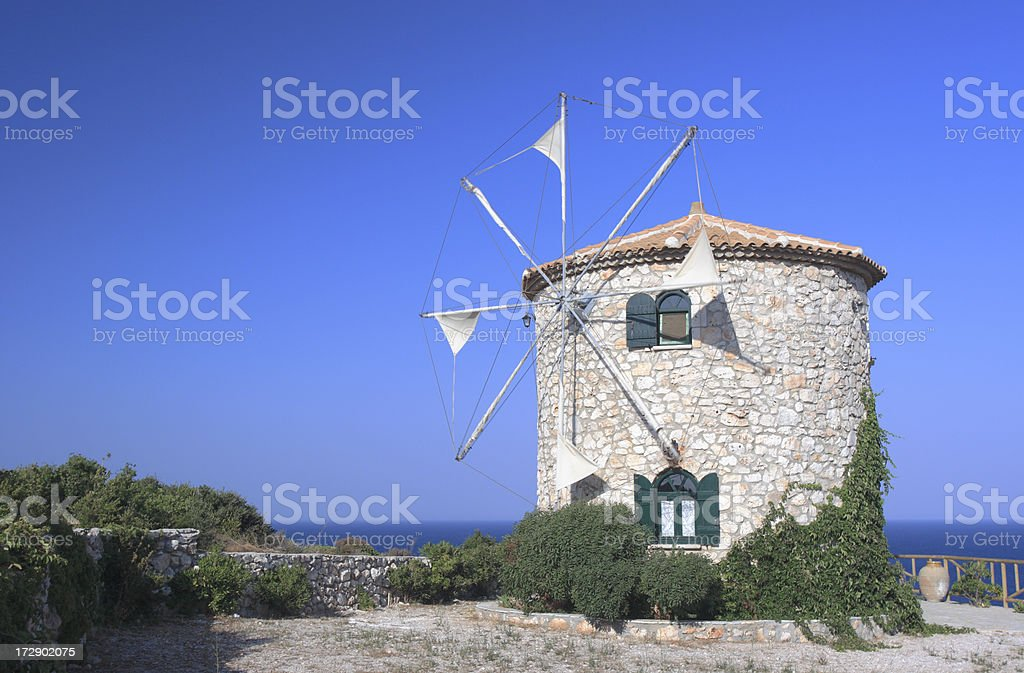 Windmill royalty-free stock photo