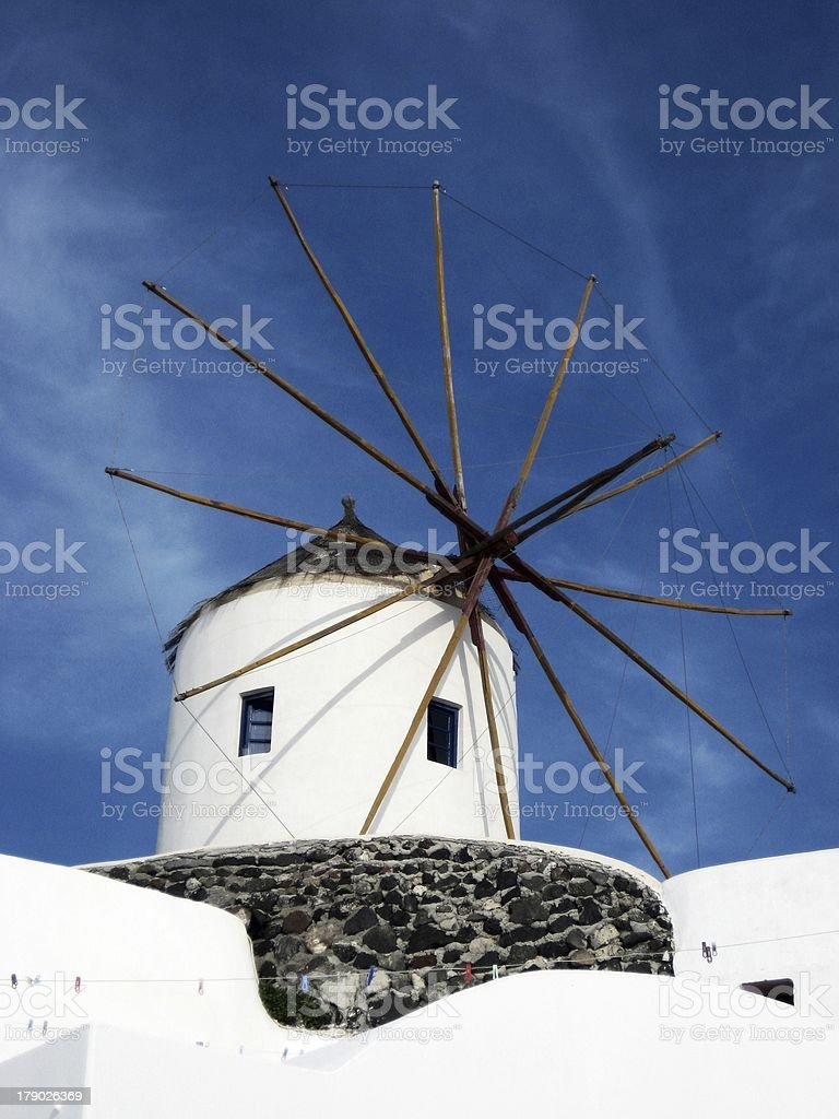 Windmill. royalty-free stock photo
