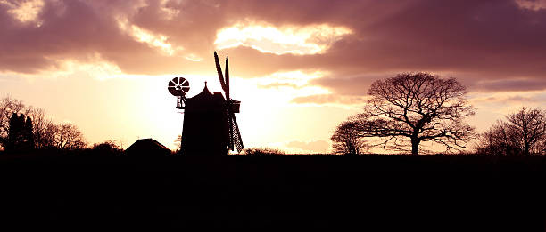 windmill Heage windmill abjure stock pictures, royalty-free photos & images