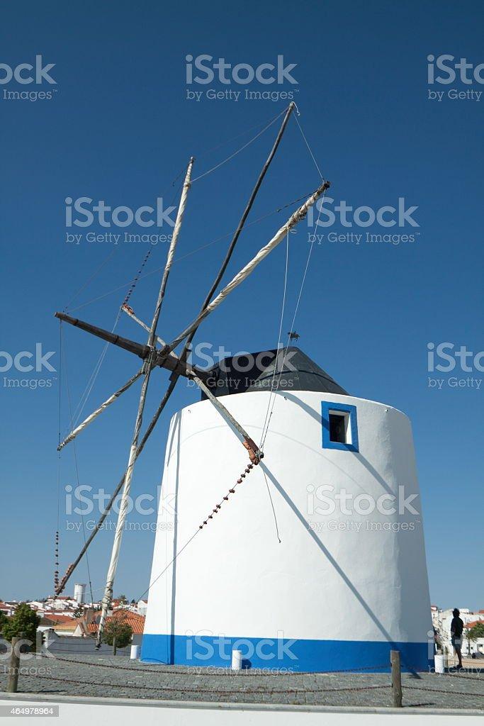 Windmill stok fotoğrafı