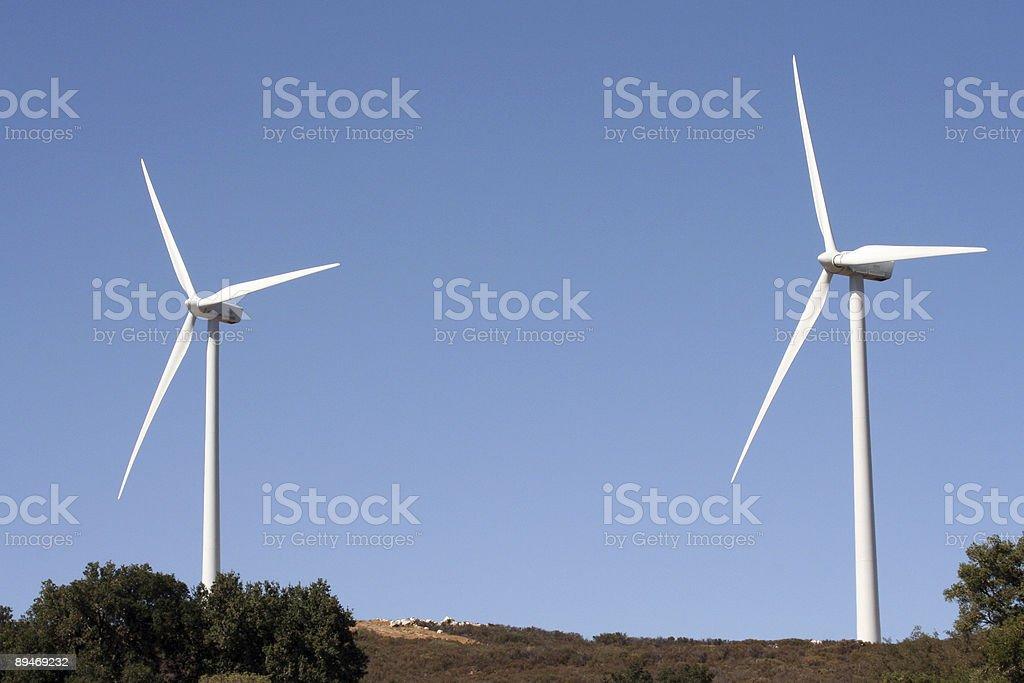 Windmühle Lizenzfreies stock-foto