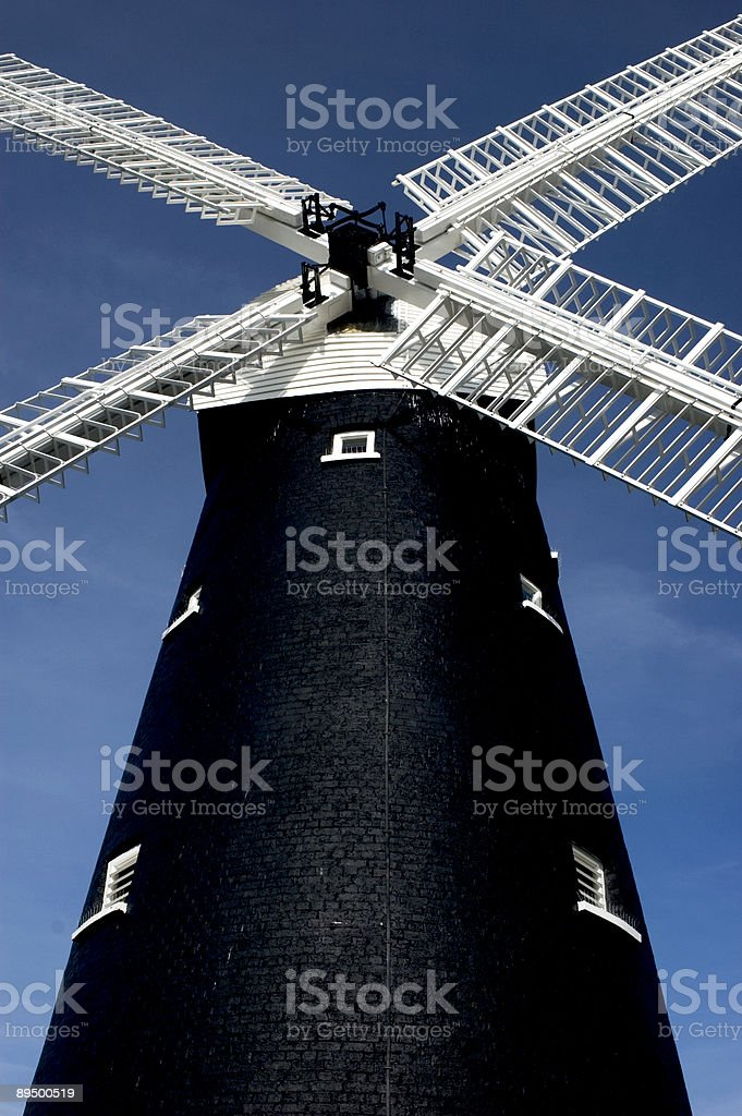 Windmill royaltyfri bildbanksbilder