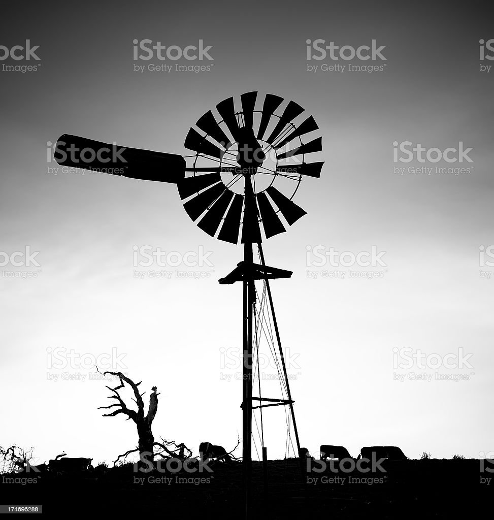 windmill silhouette stock photo more pictures of agriculture istock