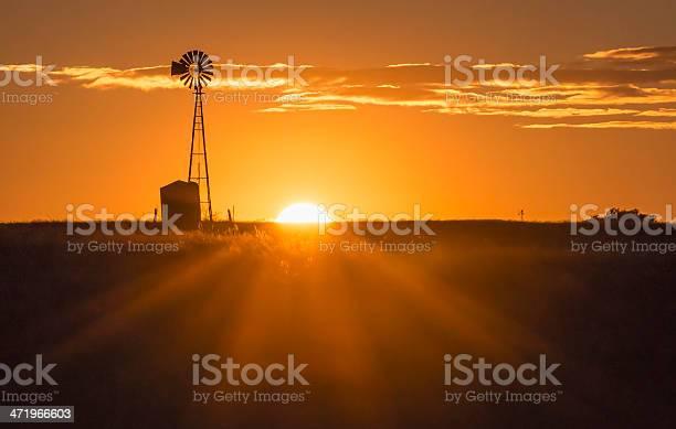 Photo of Windmill Sunset