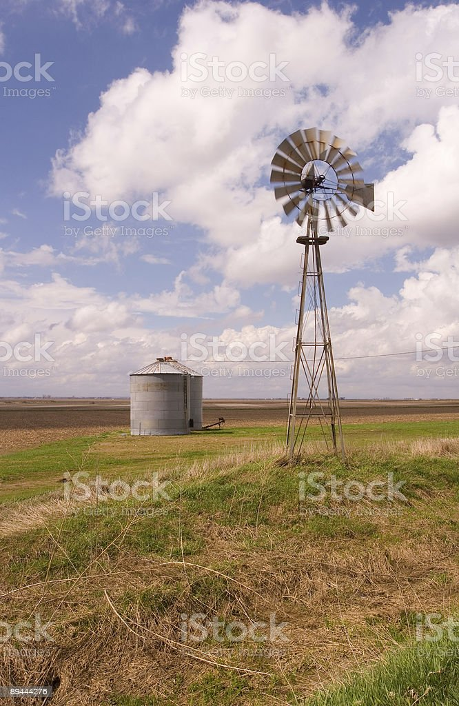 Windmill Turning royalty-free stock photo