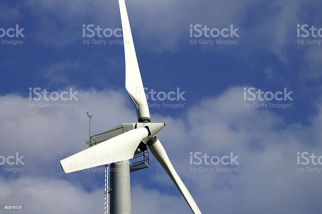 Windmill wings royalty-free stock photo