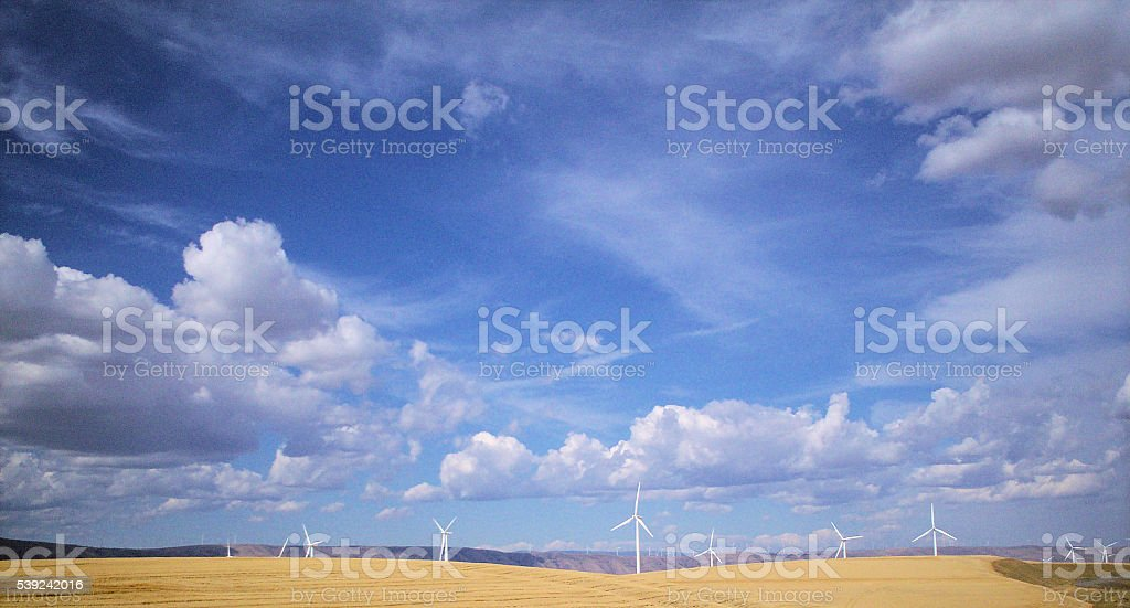 Windmills - 1 royalty-free stock photo