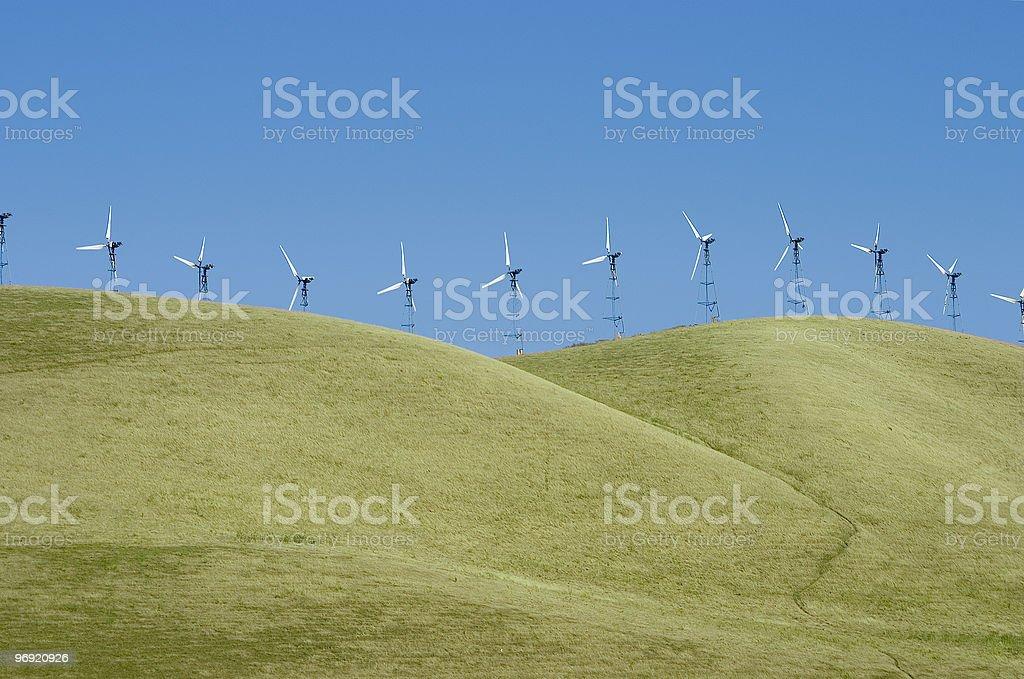 Windmills 1 royalty-free stock photo