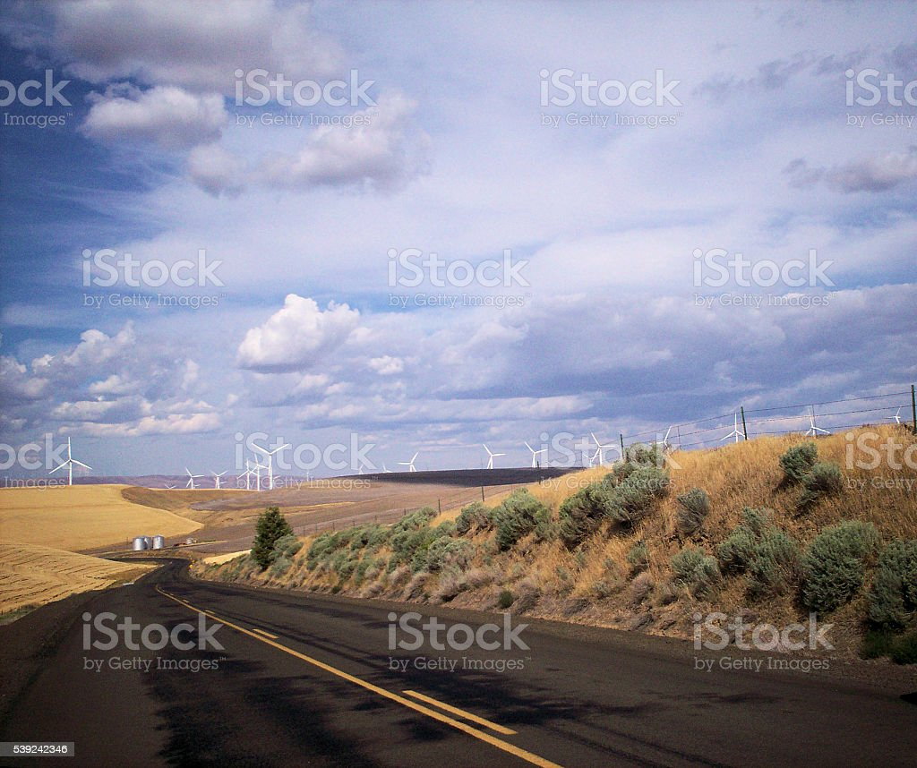 Windmills - 2 royalty-free stock photo