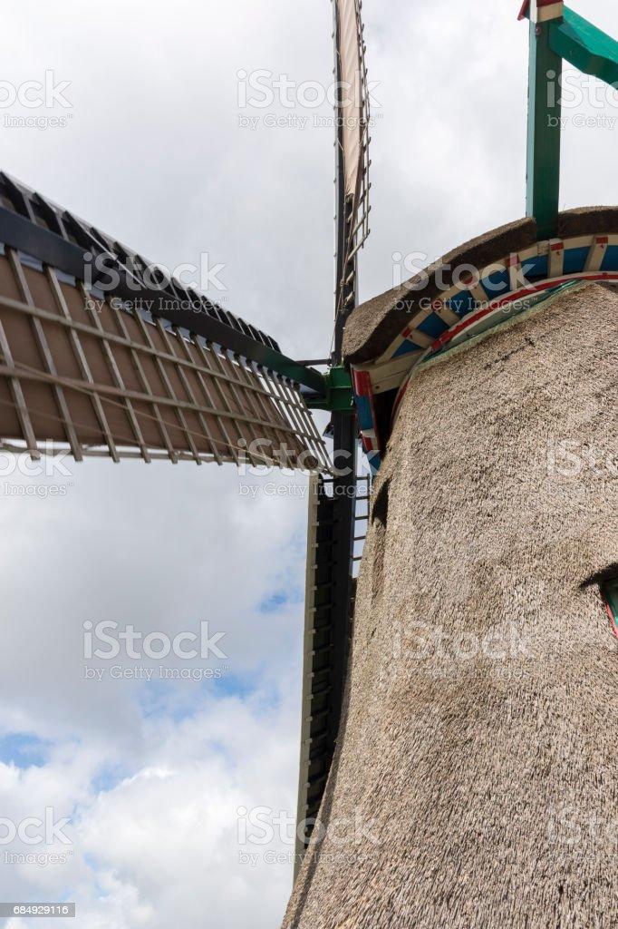 Windmills at Zaanse Schans Lizenzfreies stock-foto