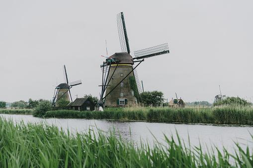 풍차 In The Netherlands 0명에 대한 스톡 사진 및 기타 이미지