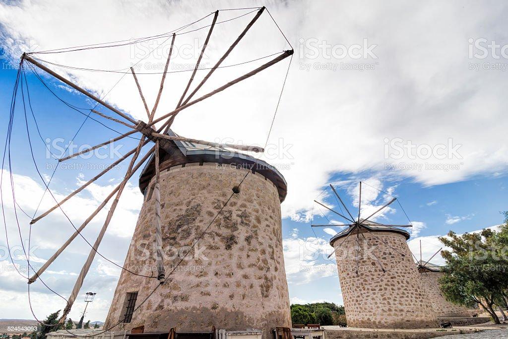 Windmills of Alacati foto