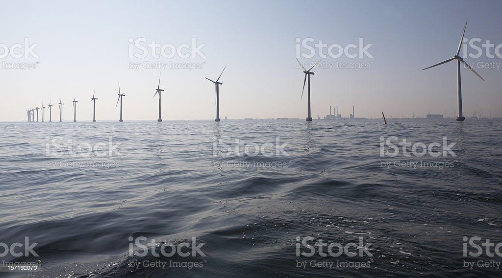 Windmills Windmills at Middelgrunden outside Copenhagen Choice Stock Photo