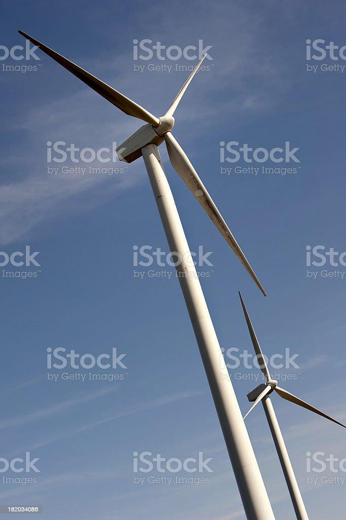 Windmills royalty-free stock photo