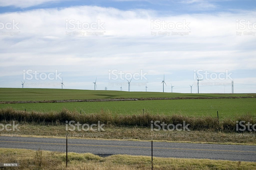 Windmühlen Lizenzfreies stock-foto