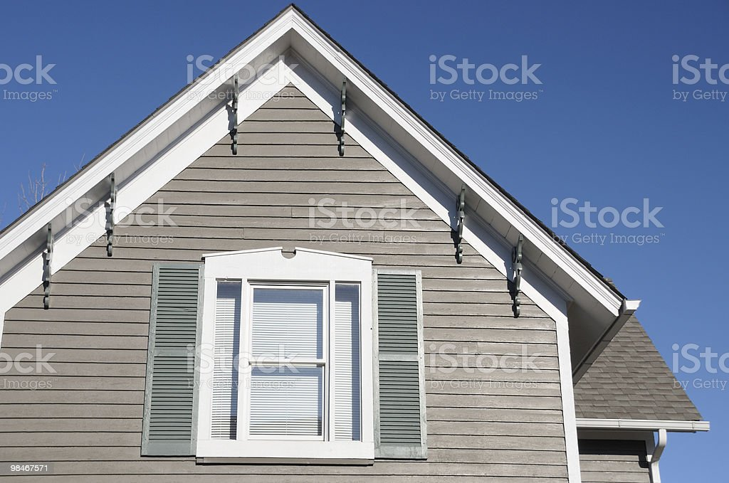 Window and Blue Sky royalty-free stock photo