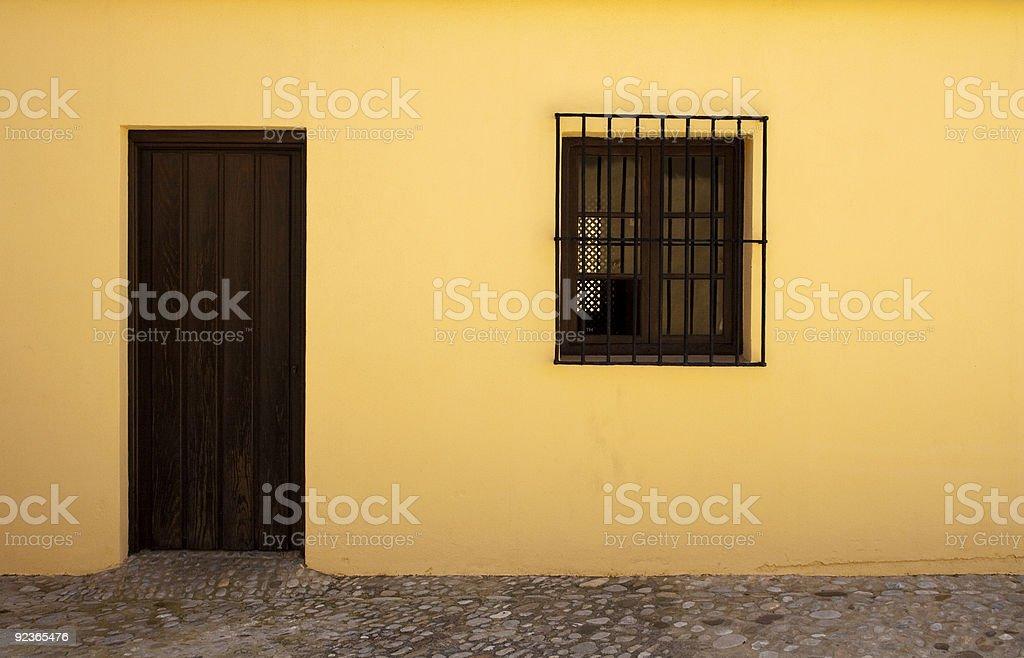 Fenster und Türen Lizenzfreies stock-foto