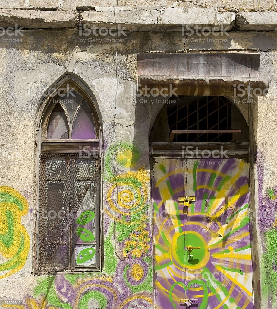Window and door royalty-free stock photo