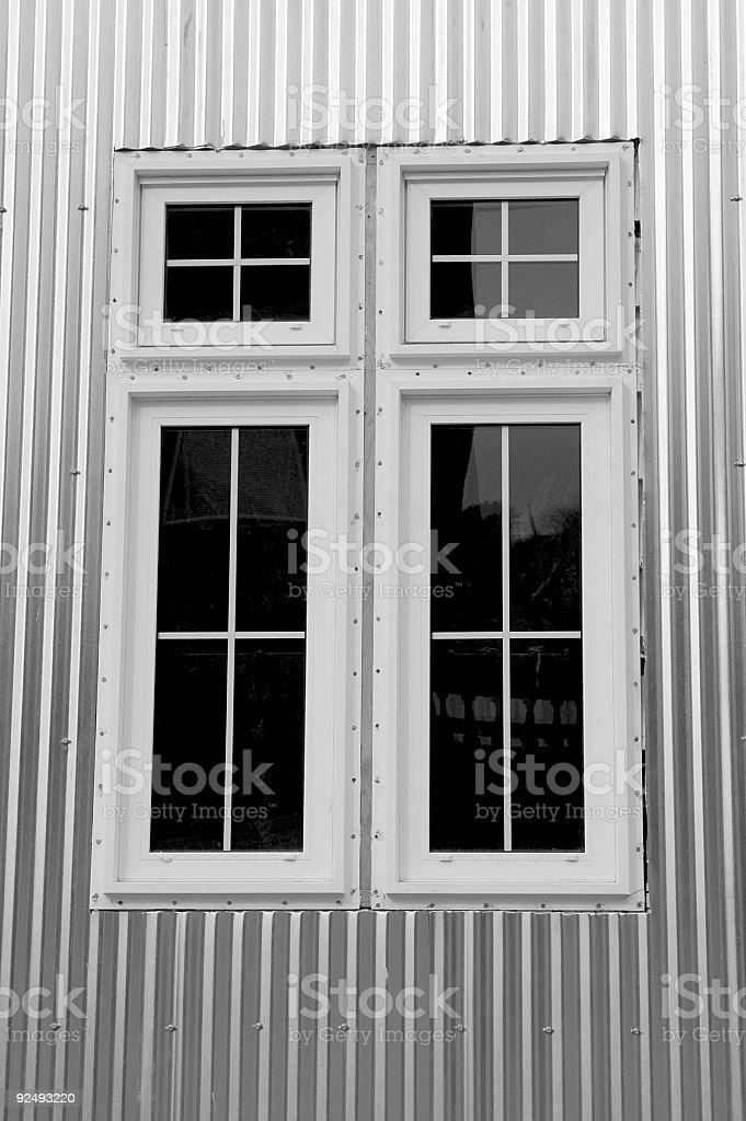 Fenster Architektur Lizenzfreies stock-foto