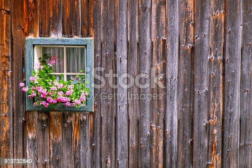 istock Window at a farmhouse 913732840