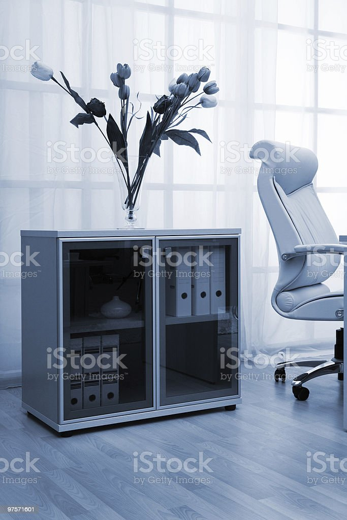 window at modern office royalty-free stock photo