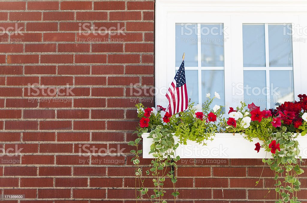 Window Box stock photo