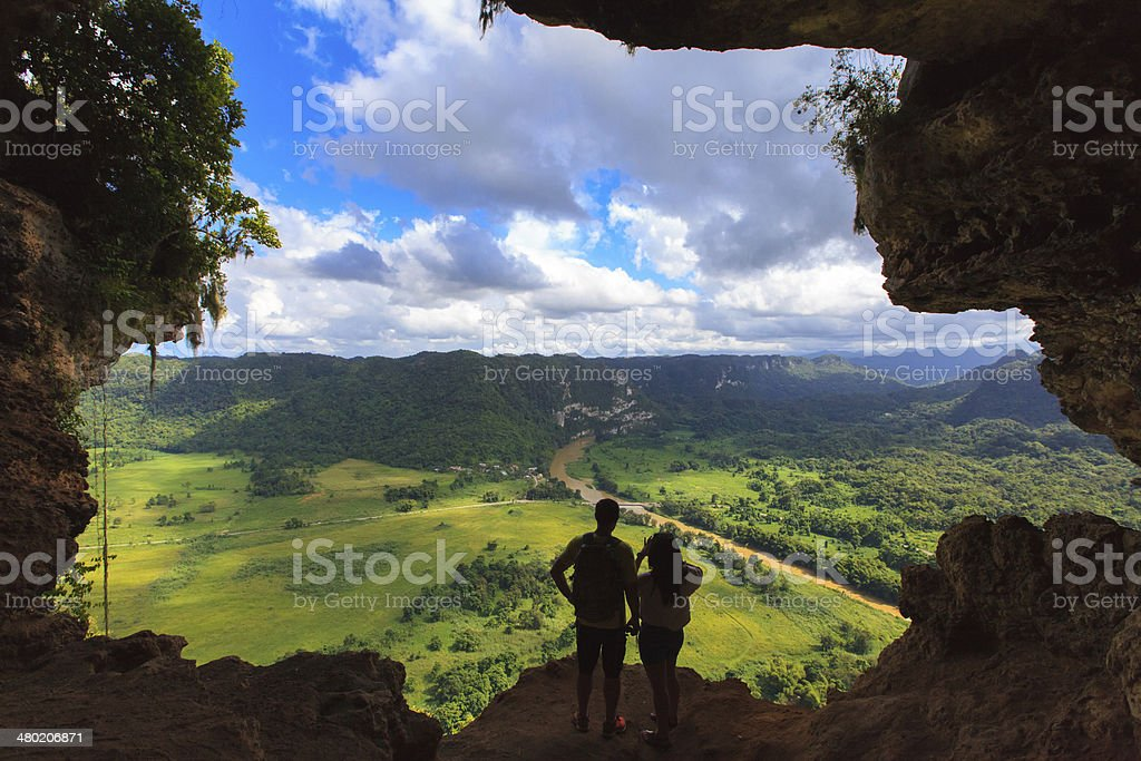 Cueva Ventana stock photo