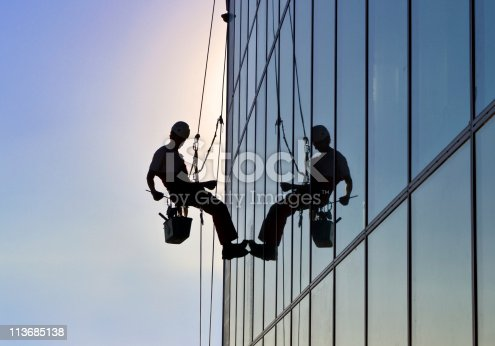 istock Window cleaner 113685138