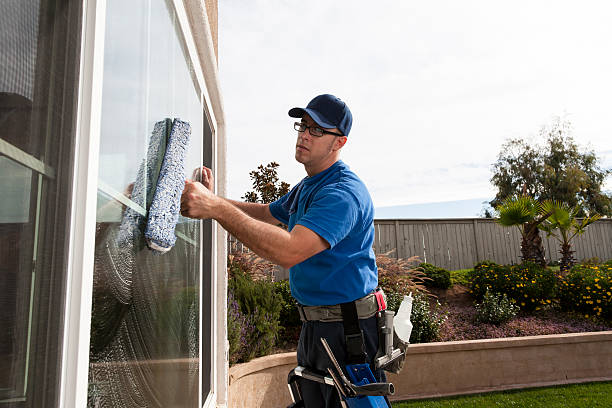 Window Cleaning stock photo