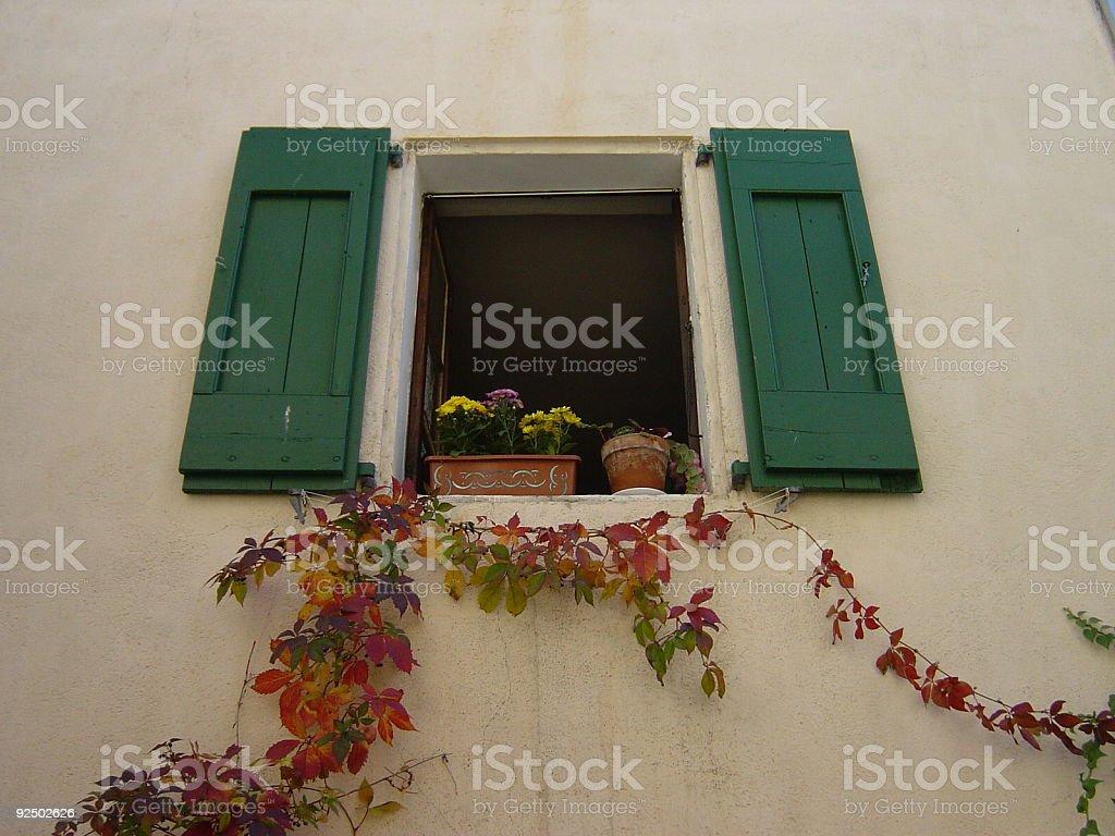 Window decoration royalty-free stock photo