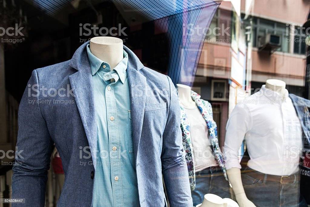 window display stock photo