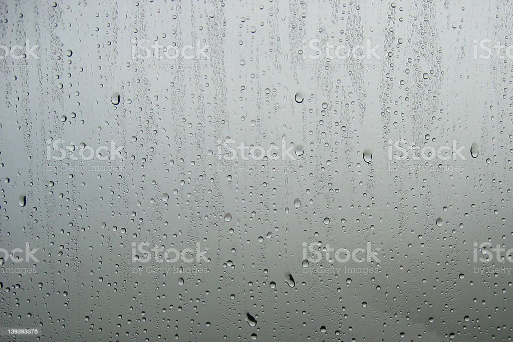 Window Droplets royalty-free stock photo